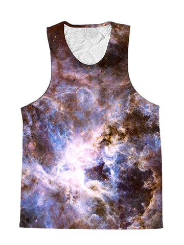 Interstellar Connection Pastel Galaxy Premium Tank Top