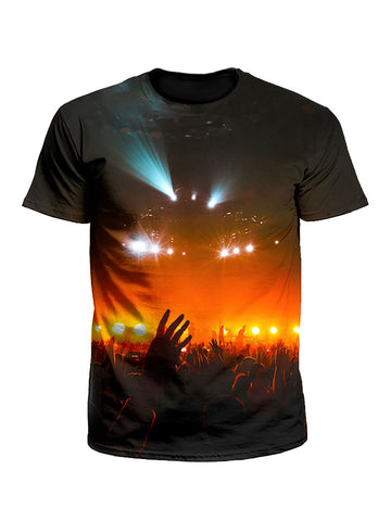 Into The Crowd Concert Moment Unisex T-Shirt