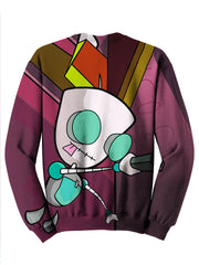 Invader Zim Sweater - Gir Artwork - Festival Sweat Shirt