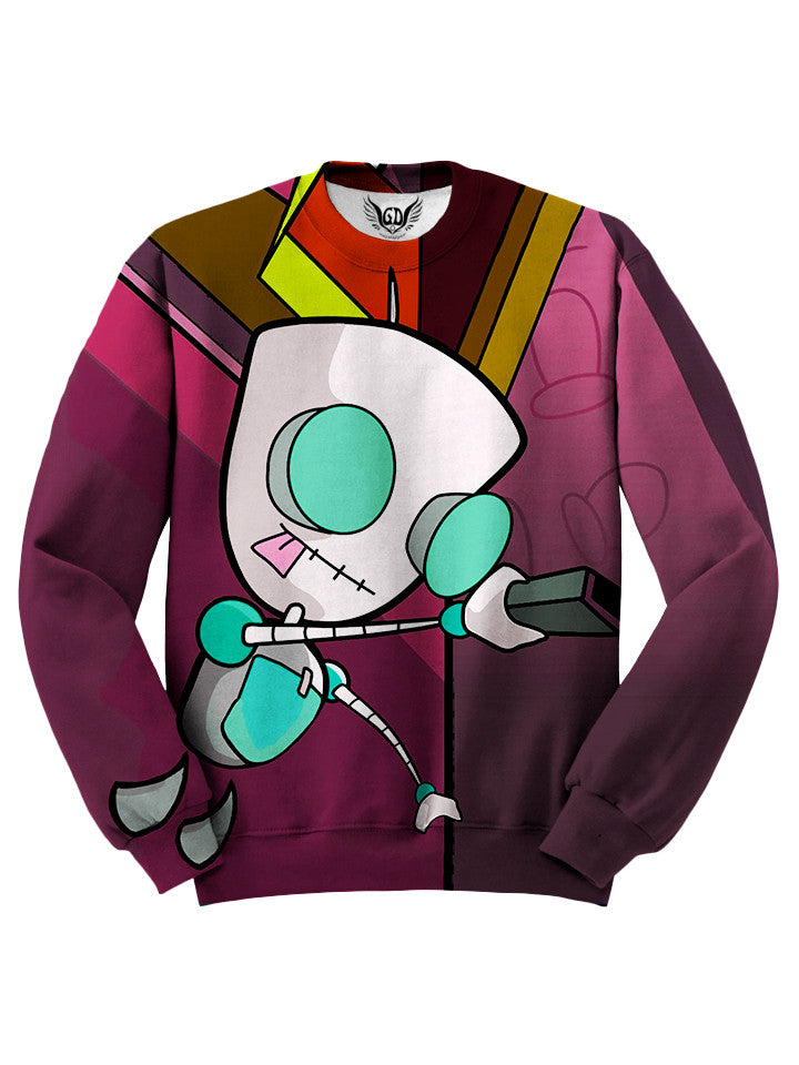 Invader Zim Gir Sweater - Festival Clothing