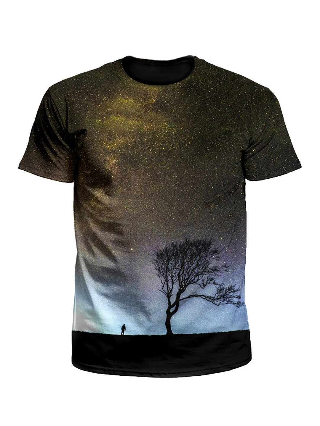 Landing Tree Galaxy Unisex T-Shirt
