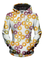 womens foodie hoodie - fruit loops cereal