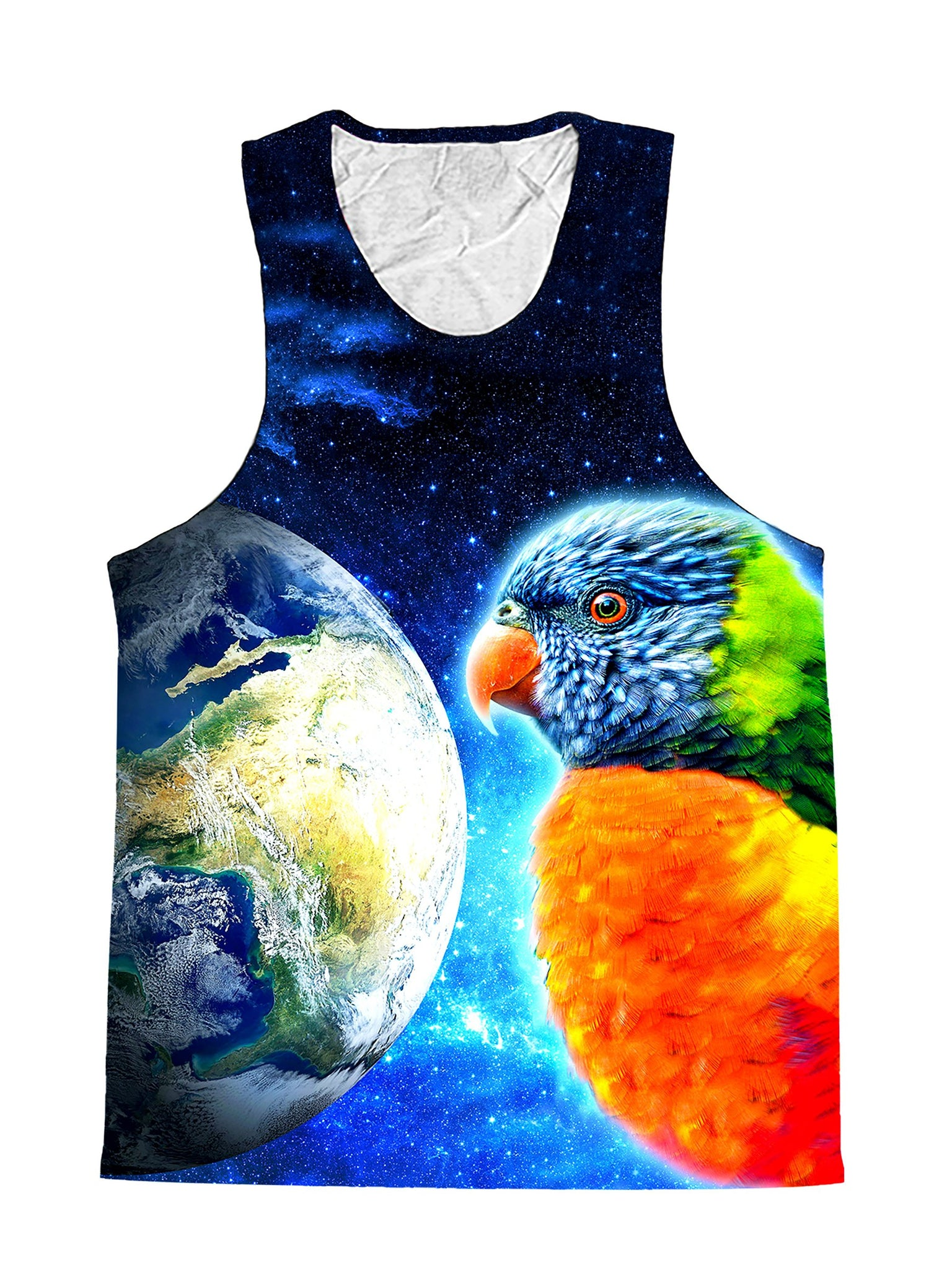 Mimic Parrot Galaxy Premium Tank Top