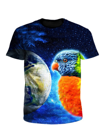 Mimic Space Parrot Unisex T-Shirt