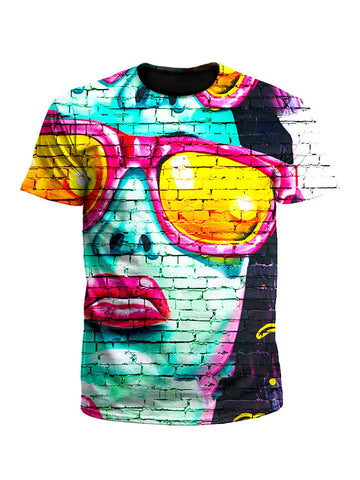 Mod Graffiti Street Art Unisex T-Shirt