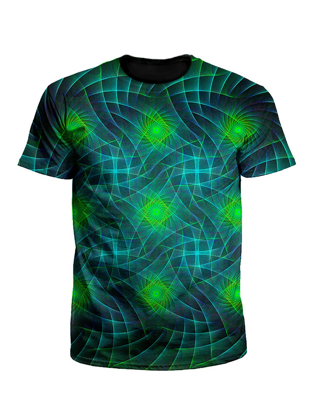 Motherboard Geometric Fractal Unisex T-Shirt