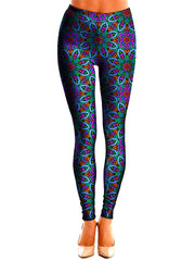 Best Mandala Art Festival Leggings | I Am Electric