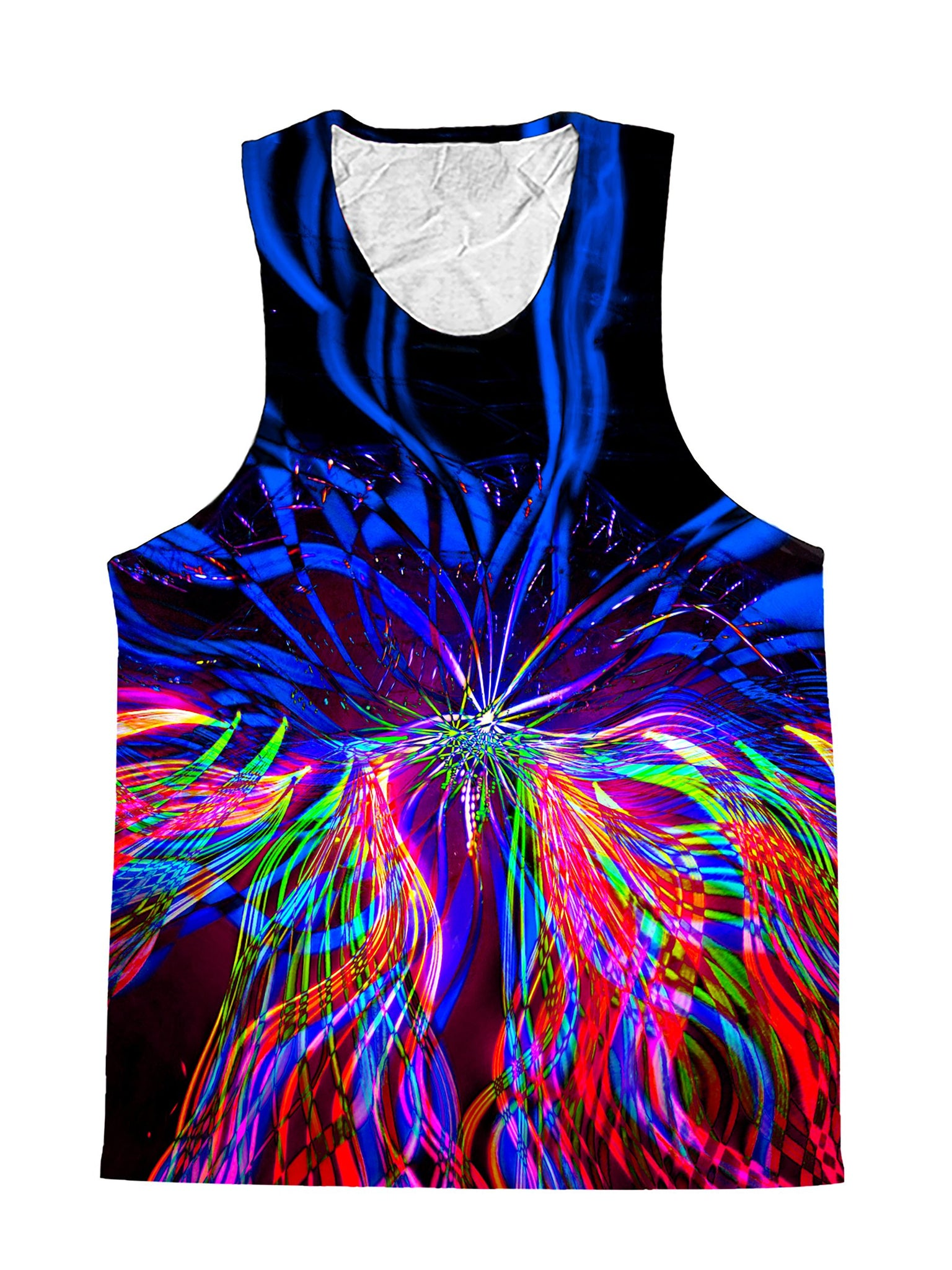 On One Light Show Mandala Premium Tank Top