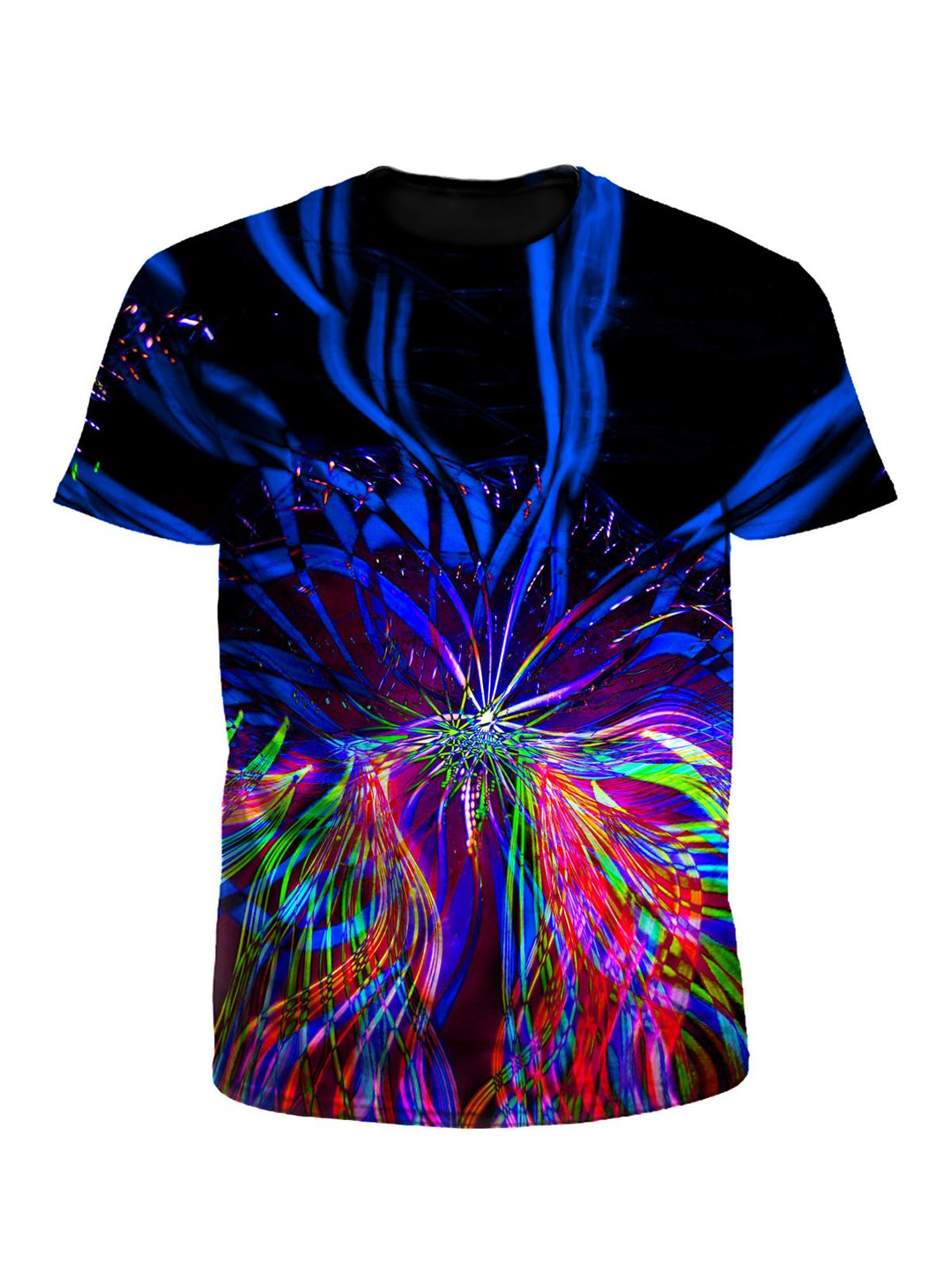 On One Psychedelic Light Show Unisex T-Shirt