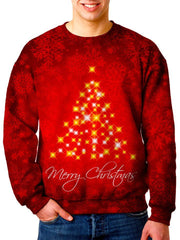 Red Christmas Tree Sweater