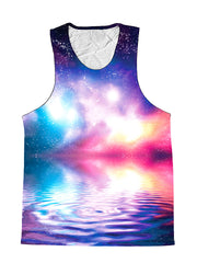 Ripple In Space Water Galaxy Premium Tank Top