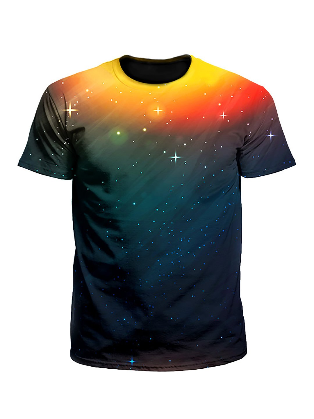 Setting Night Sunset Galaxy Unisex T-Shirt