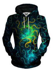 Beautiful Space Swirls Pullover Hoodie Womens Front View