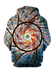 Stained Glass Pullover Hoodie - GratefullyDyed - 2