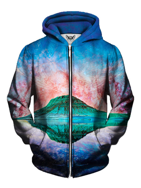 Alien Rockies Zip-Up Hoodie - Trippy Festival Clothing