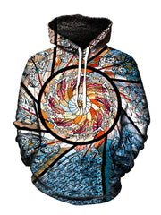 Stained Glass Pullover Hoodie - GratefullyDyed - 1