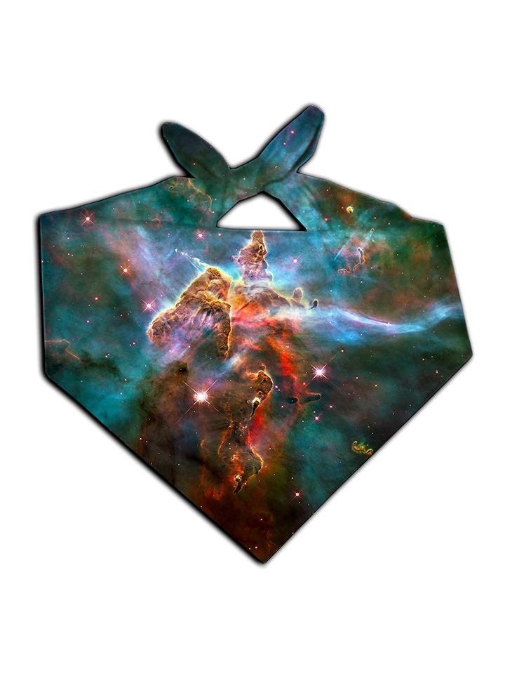 Space Aura Bandana Front View Tied