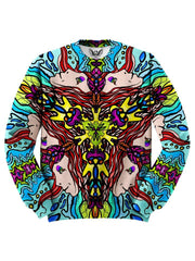 Trippy Colorful Reincarnated Dream Sweater