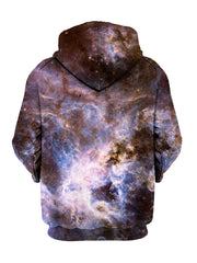 Psychedelic Galaxy Pullover Hoodie Back View