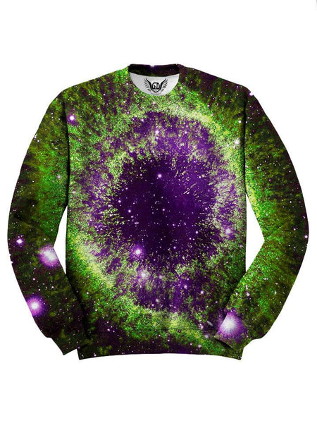 Beautiful Purple And Green Space Sweater
