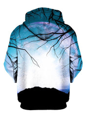 Trippy Tree Branches Pullover Hoodie Back View