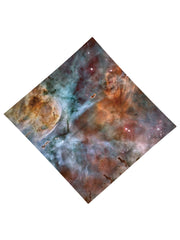 Abstracted Nebula Printed Bandana - GratefullyDyed - 3