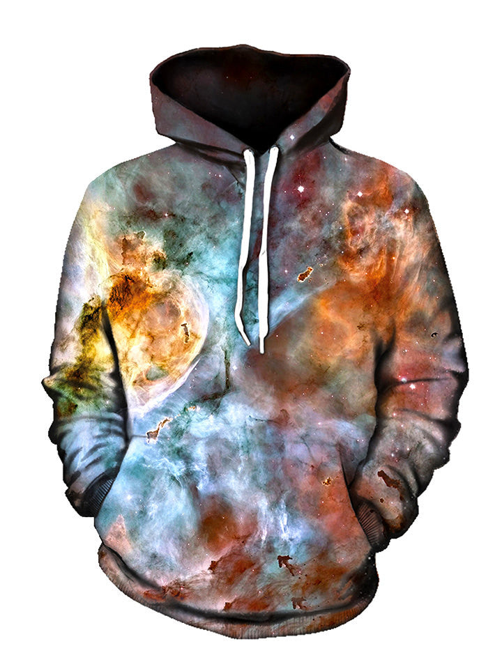 Abstracted Nebula Unisex Hoodie - GratefullyDyed - 1
