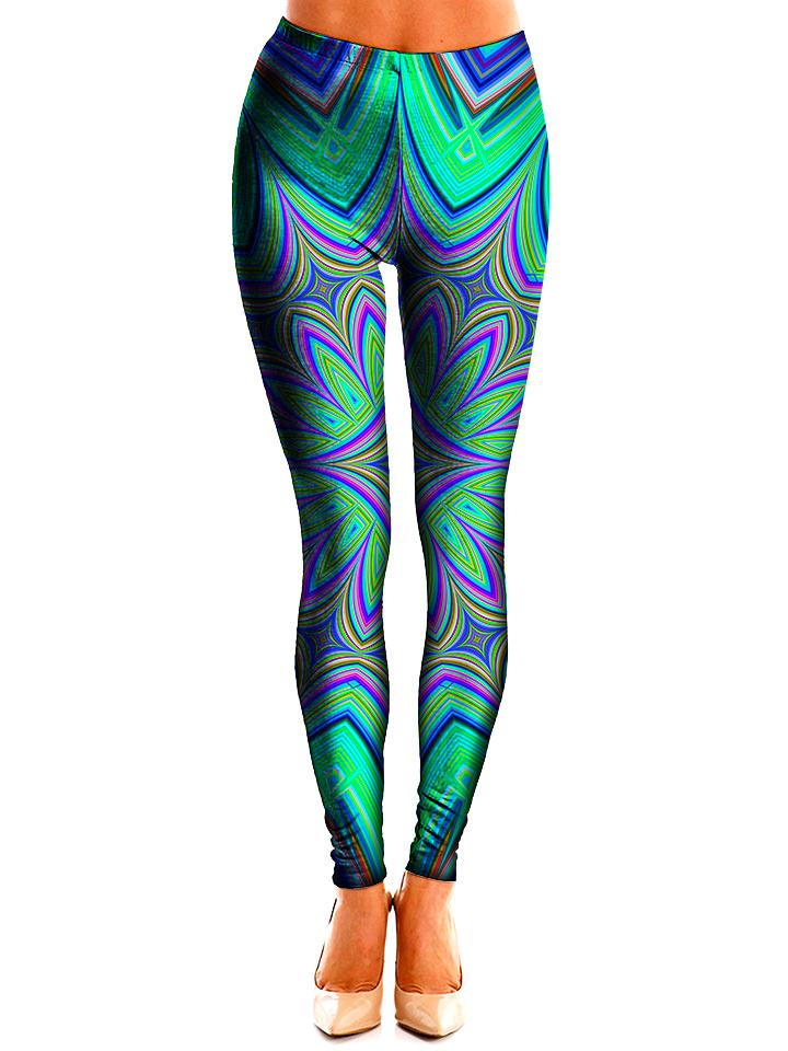 Water Blossom Leggings - GratefullyDyed 1