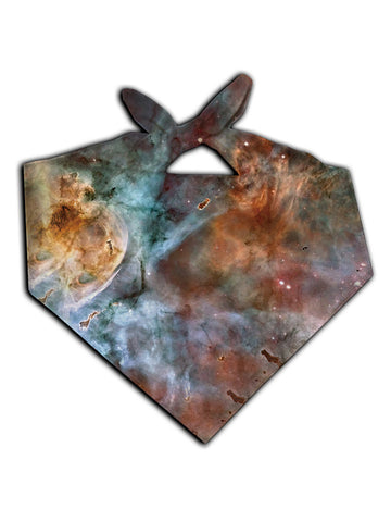 Abstracted Nebula Printed Bandana - GratefullyDyed - 1