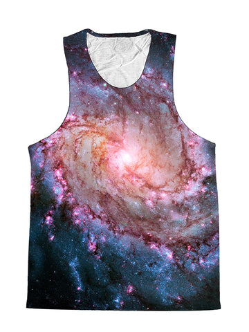 Twisted Skies Spiral Galaxy Premium Tank Top