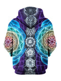 Attuned Pullover Art Hoodie - GratefullyDyed - 2