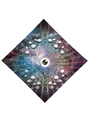Eye of the Universe Printed Bandana - GratefullyDyed - 3