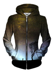Beautiful Light Brown Womens Zip Up Hoodie