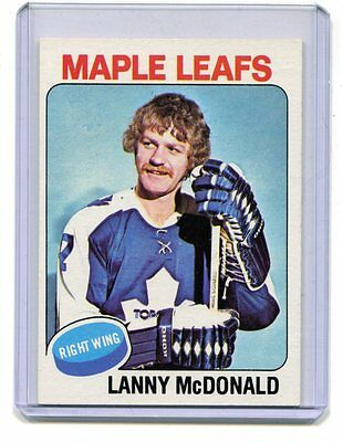 1975-76 Topps #23 Lanny McDonald Maple Leafs Nice Card jh17