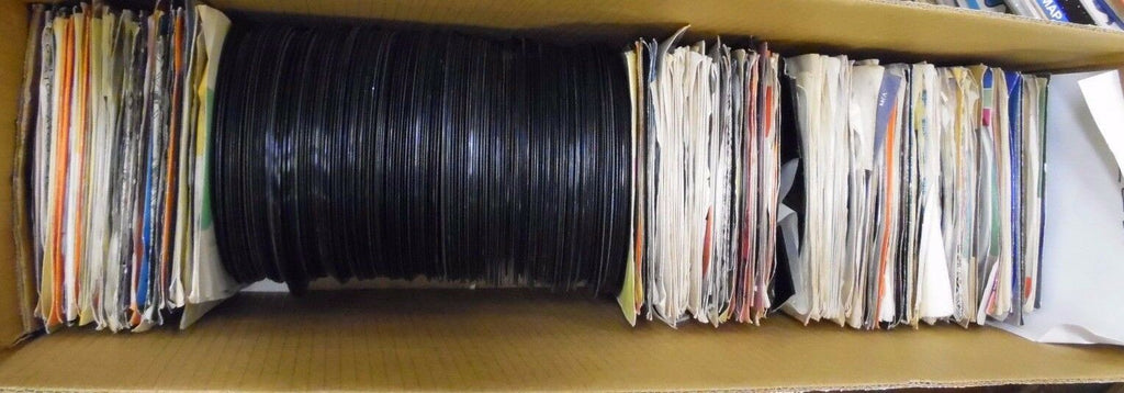 Lot of 166 Different 45rpm Vinyls Picture Sleeves & Promos 42ELDB