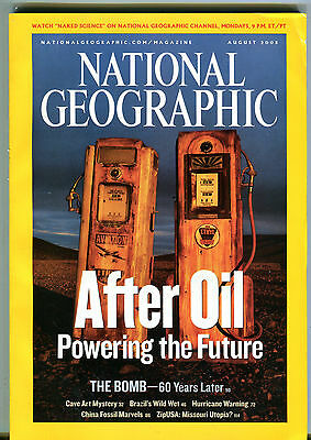 National Geographic Magazine August 2005 After Oil The Bomb Brazil EX 011116jhe