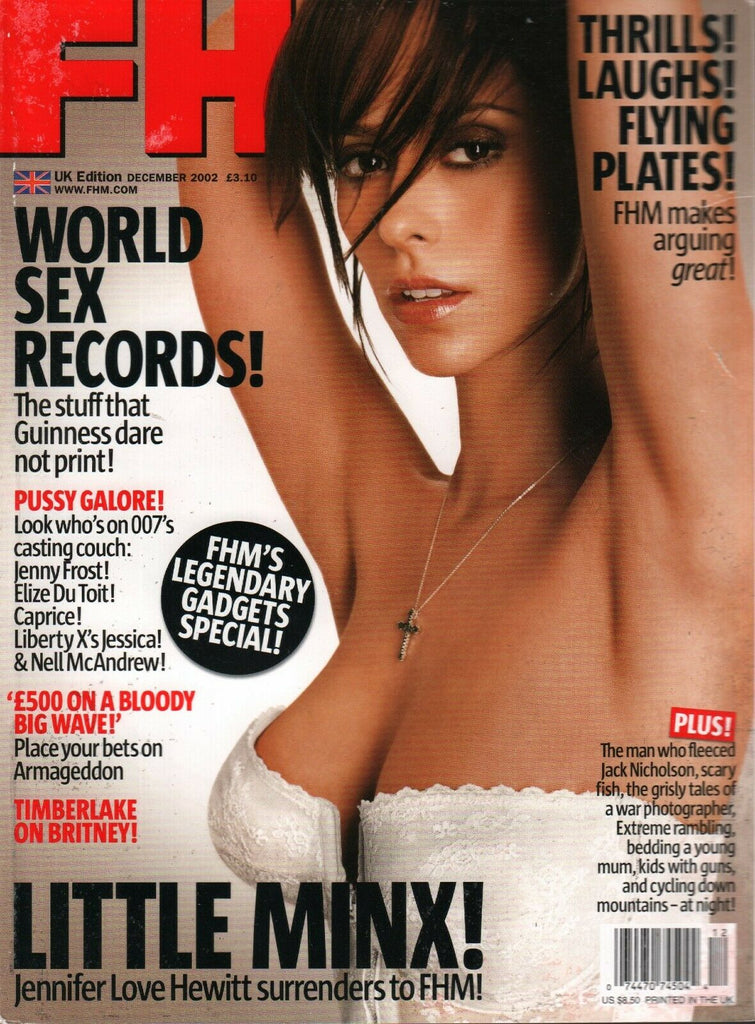 FHM Magazine UK Edition December 2002 Jennfier Love Hewitt 013020AME
