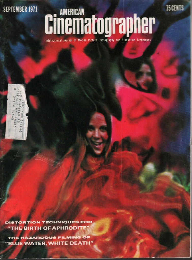 American Cinematographer September 1971 Blue Water White Death 010720AME