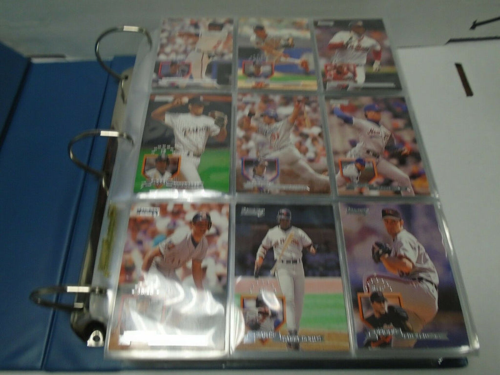 DonRuss 1995 Baseball Complete 550 Card Set Mike Piazza 121619AMCS3