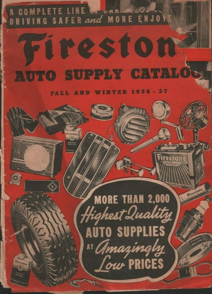 Firestone Auto Supply Catalog Fall and Winter 1936-37 070919DBE