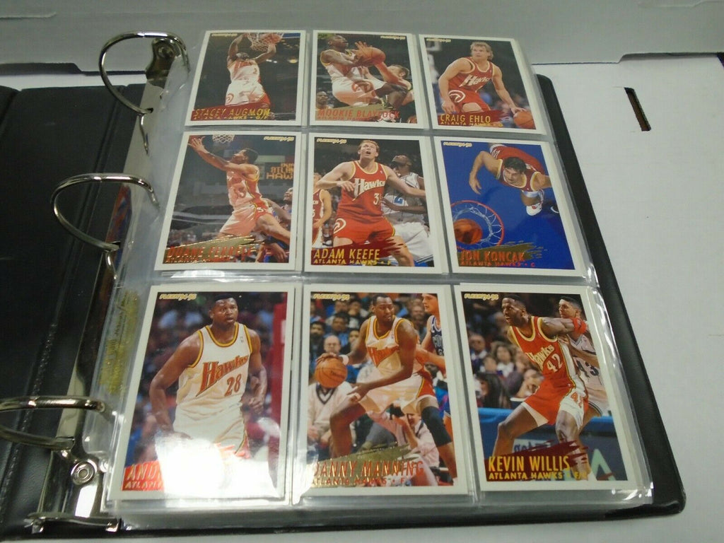 Fleer 94-95 Basketball Complete 390 Card Set w/Inserts MJ Shaq 121919AMCS2