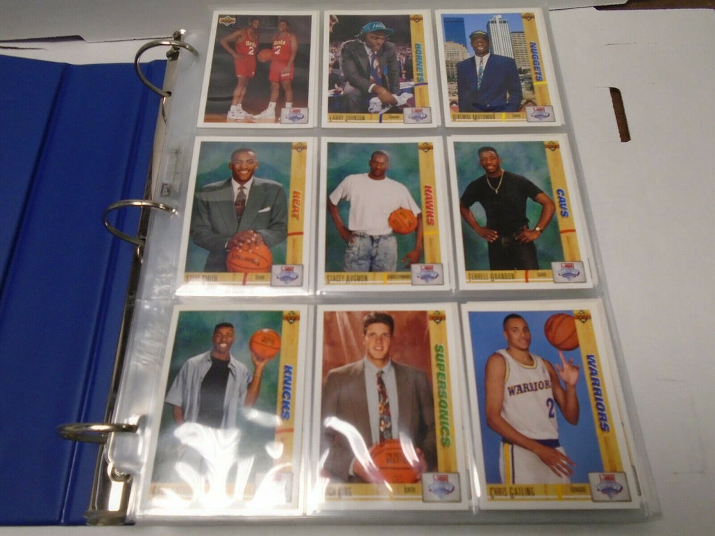 Upper Deck 91-92' Basketball Complete 500 Card Set w/Inserts MJ 121019AMCS