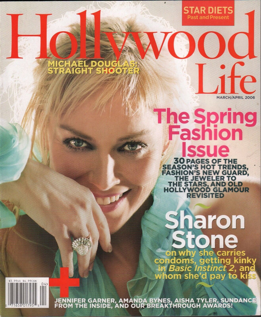 Hollywood Life March/April 2006 Sharon Stone 012417DBE