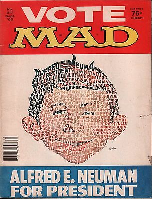 Mad Magazine No. 217 September 1980 VG 122815DBE
