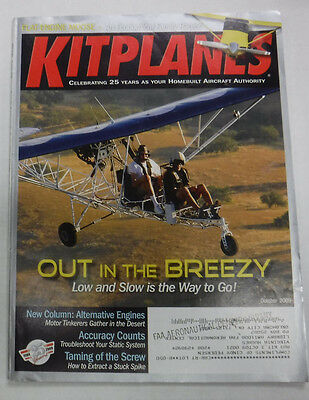 Kitplanes Magazine Low And Slow Is The Way To Go October 2009 072215R