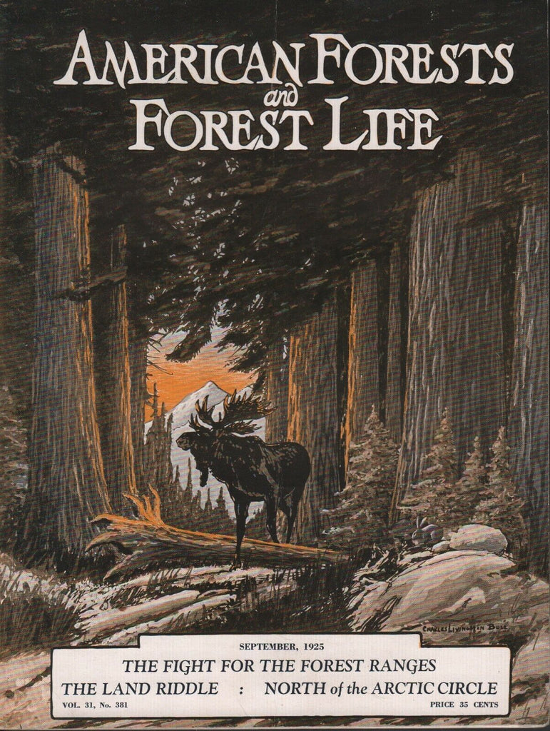American Forest and Forest Life September 1925 M. Fogg Perry Merrill 081518DBE3