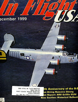 In Flight USA Magazine December 1999 B-24 EX FAA 030716jhe