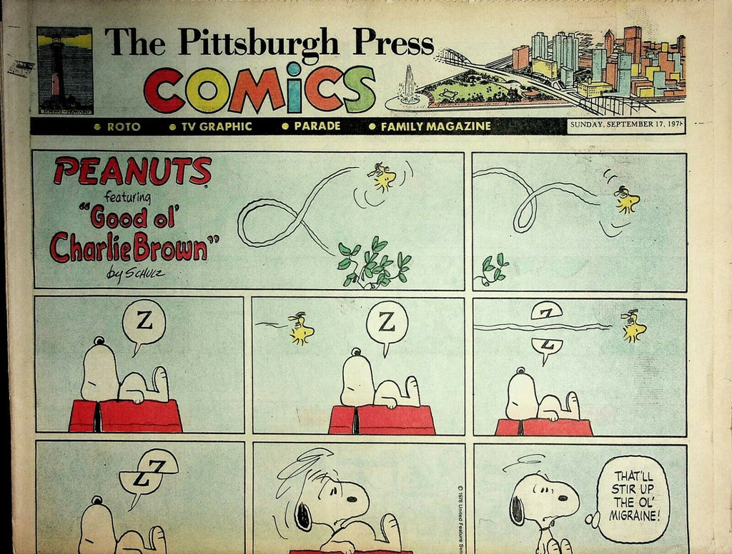 The Pittsburgh Press Comics September 17 1978 Peanuts Batman Superman 021220AME