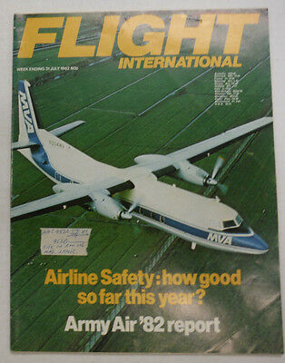 Flight International Magazine Airline Safety Army Air July 1982 FAL 060915R2