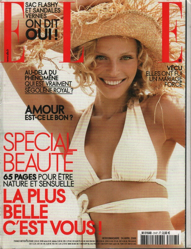 Elle French Fashion Magazine 24 Avril 2006 Anne Menke Helene Renault 091819AME